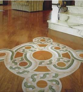 Ambienti in mosaico e legno
